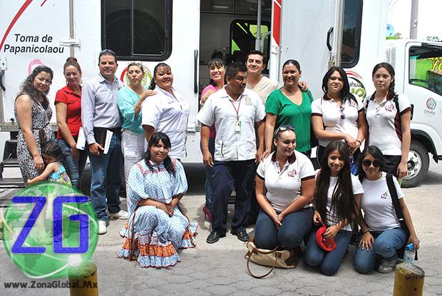 El lugar de instalación de los módulos de atención ciudadana fue la explanada de la Presidencia Seccional de Guadalupe Victoria.